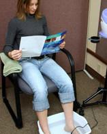 ionizzaziione cellulare attraverso il piede