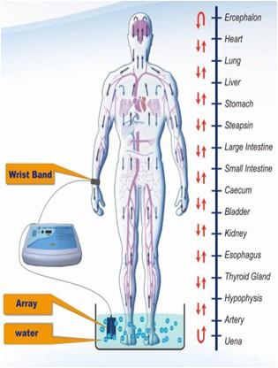 Quick ion cells foot detox